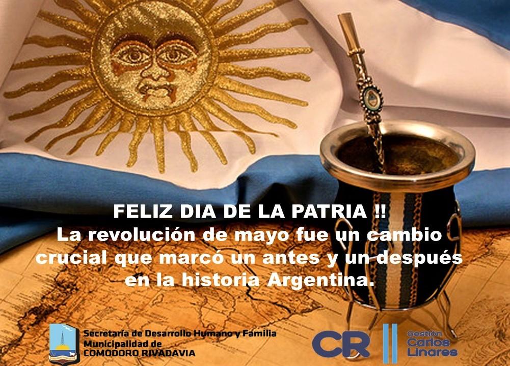 25 de Mayo 1810-2018 – Secretaría de Desarrollo Humano y Familia