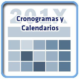 cronogramas