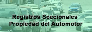 Registros Seccionales Propiedad del Automotor