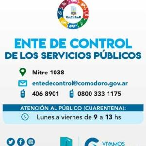 EnCoSeP – Ente de Control de Servicios Públicos