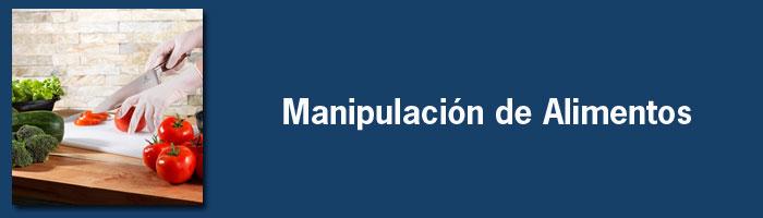 Manipulación de Alimentos – Cuadernillos