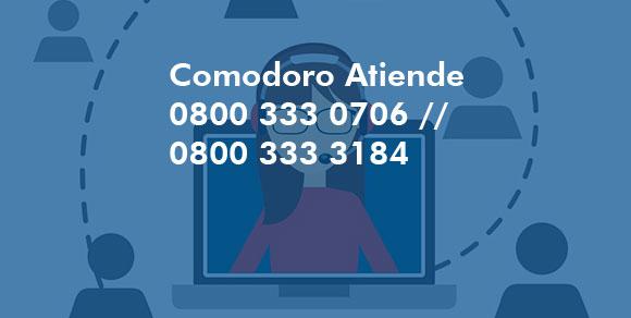 Comodoro Atiende 2974757400 // 2974757410