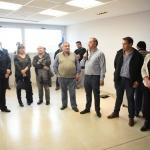 El intendente encabezó la puesta en funcionamiento de las nuevas oficinas de Tierras