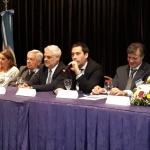 Luque participó de la apertura de las III Jornadas Patagónicas de derecho de Familia y de la Persona