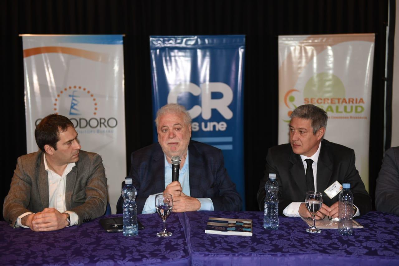 """Ginés: """"Hay que tener una política fuerte de salud y eso intenta Comodoro Rivadavia"""""""
