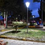 El Municipio realizó trabajos de reacondicionamiento en la plaza de ingreso a barrio Castelli