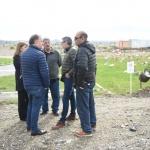 Importante avance de la obra del crematorio municipal en el Cementerio de Km 9