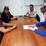 Funcionarios municipales visitaron la Asociación Vecinal de B° La Floresta