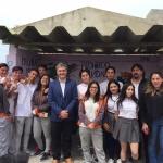 Desde el Municipio elogiaron el trabajo comunitario de 5° Año de la Escuela Provincial N° 745