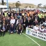 """Linares: """"Tener un municipio ordenado nos permite acompañar a las instituciones de Comodoro"""""""