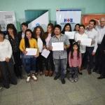 Se entregaron nuevos certificados del Programa de Capacitaciones del Municipio, Hospital Británico y Universidad