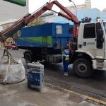Municipio concretó importante operativo de limpieza en el casco céntrico