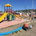 El Municipio concretó tareas de mantenimiento en espacios públicos