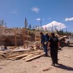 El Municipio procedió al levantamiento de una ocupación ilegal en zona norte