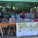Comenzó la 5° Feria de Artesanos y Productores en el Chalet Huergo