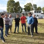La Comisión Directiva del Club Petroquímica agradeció el apoyo del Municipio