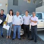 El Municipio incorporó tres vehículos para el área de Tierras