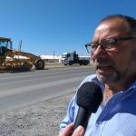 La Municipalidad realiza tareas de mejoramiento de banquinas en zona norte
