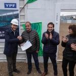 Se puso en marcha la construcción del natatorio en el Pueyrredón
