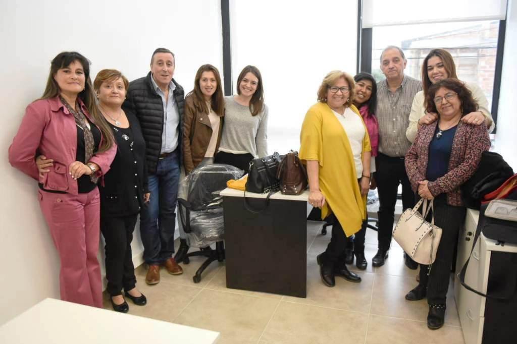 Linares inauguró la oficina del Servicio de Protección de Derechos