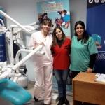Se concretó una nueva entrega de prótesis dentales