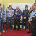 La Policía del Chubut reconoció la presencia municipal para sostener sus funciones