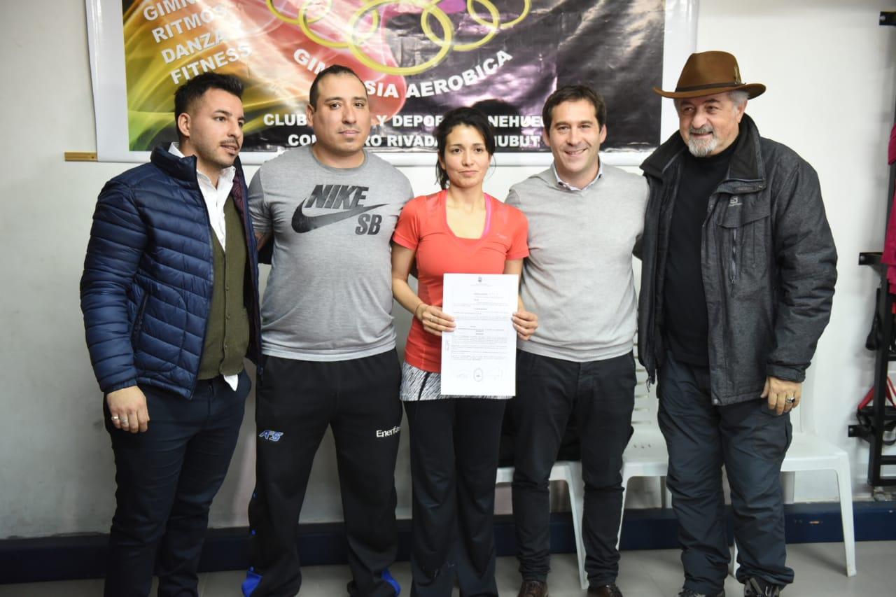 Referentes del Club Social y Deportivo Nehuen destacaron el acompañamiento del Ejecutivo local