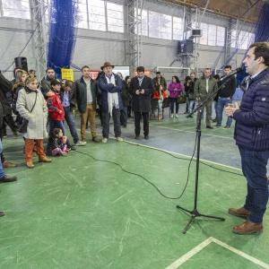 Luque encabezó la apertura oficial de la Expo Educación Vial