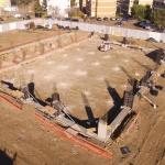 Fuerte avance en la obra de la Pileta Municipal y el Hotel Deportivo