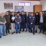 """Luque: """"Bomberos Voluntarios forma parte de un área estratégica de la ciudad"""""""