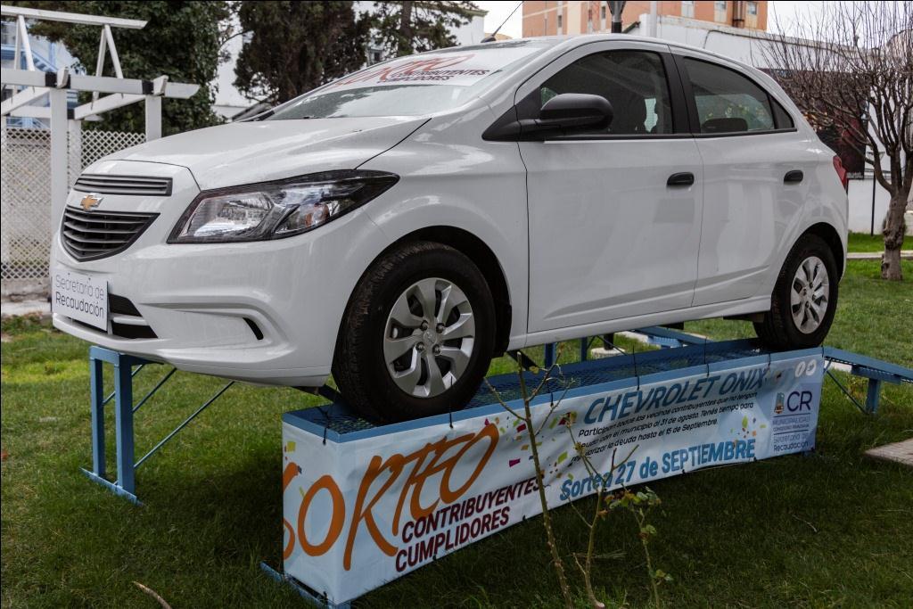 A fin de mes se realizará el sorteo del auto 0KM para los contribuyentes cumplidores