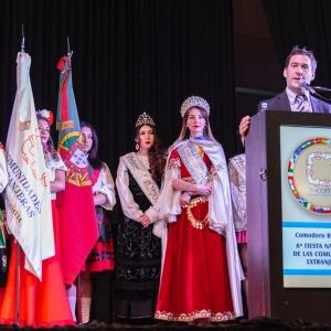 El Municipio acompañó la inauguración de una nueva edición de la Feria de las Colectividades