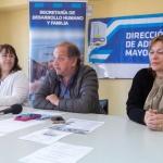 El Municipio presentó las actividades que se realizarán por el Día de las Personas Mayores