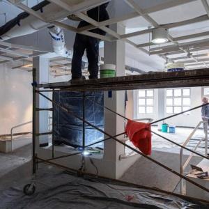 Fuerte avance de la obra de recuperación del Museo Antonio Garcés