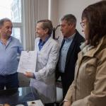 El Municipio entregó un aporte económico al CABIN para la adquisición de un equipo electrógeno