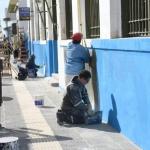 El Municipio realiza tareas de reacondicionamiento en el Correo Argentino