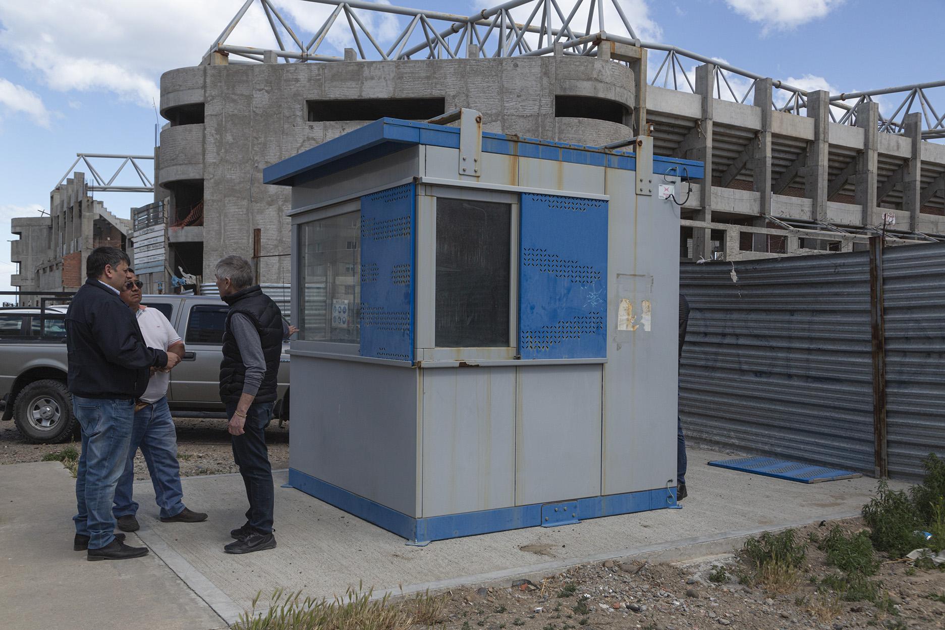 El Municipio dispuso guardia permanente en la obra del Estadio del Centenario