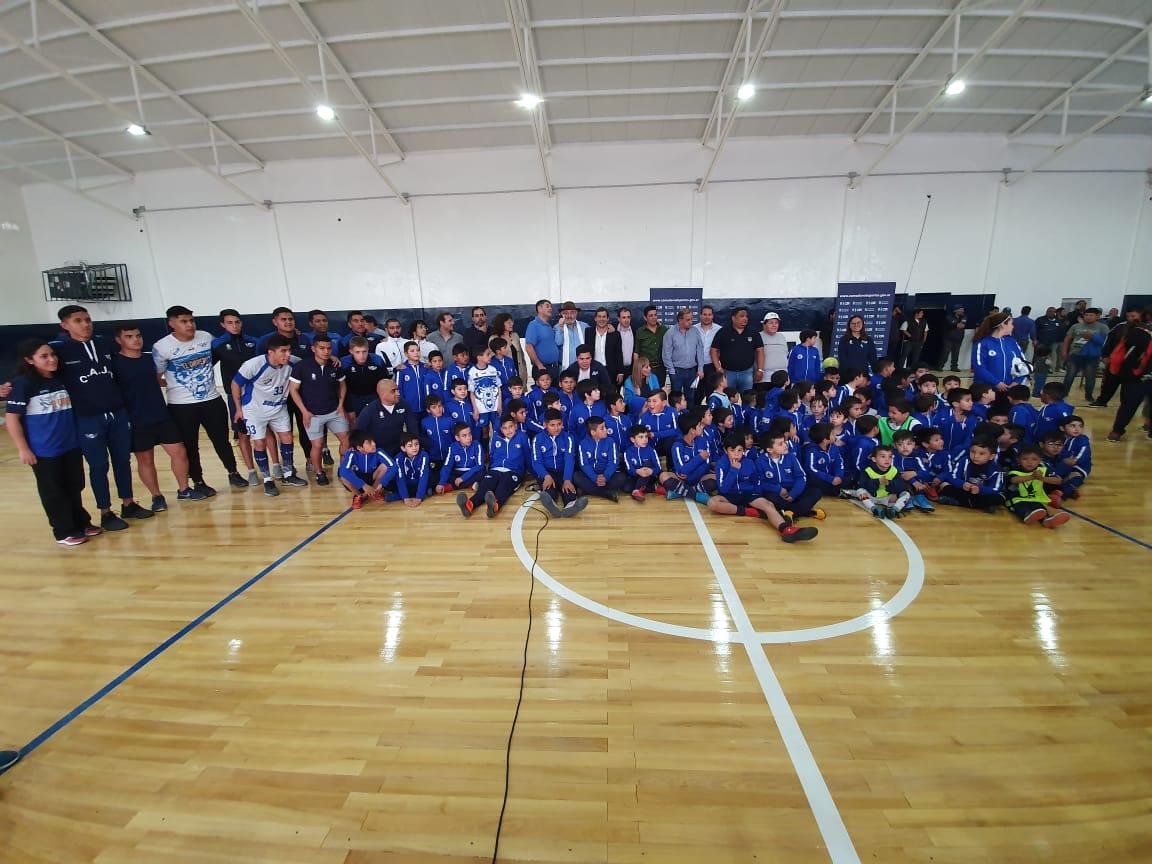 El presidente del Club Jorge Newbery agradeció el acompañamiento del municipio