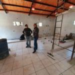 Gracias al acompañamiento del Municipio avanza a buen ritmo la obra de la sede vecinal del Divina Providencia