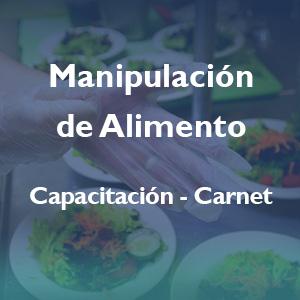 Manipulación de Alimentos – Reglamentación
