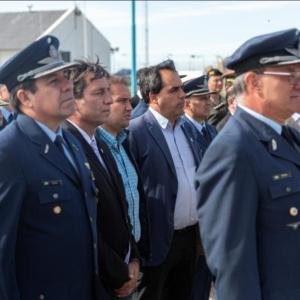 Municipio acompañó la asunción del nuevo jefe del Destacamento Naval de Comodoro Rivadavia