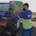 El Municipio amplía el servicio de recolección de residuos urbanos a unas 450 familias de Km. 12