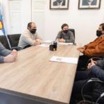 """Luque se reunió con el referente de Empleados de Comercio por la propuesta de """"horario corrido"""""""