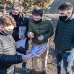 Con el reinicio del aterrazamiento del Cerro Chenque, Luque anunció un ambicioso proyecto de embellecimiento urbano