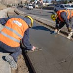 La Municipalidad amplía la obra de la ciclovía en Km. 3 en la continuidad de su plan de embellecimiento de lugares públicos