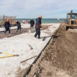 El Municipio continúa trabajando para poner la ciudad de cara al mar