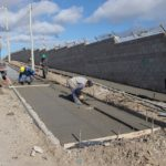 El Municipio inició la ejecución de un nuevo paseo aeróbico en la zona sur