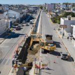 El Municipio avanza en el ensanchamiento del canal de Avenida Roca