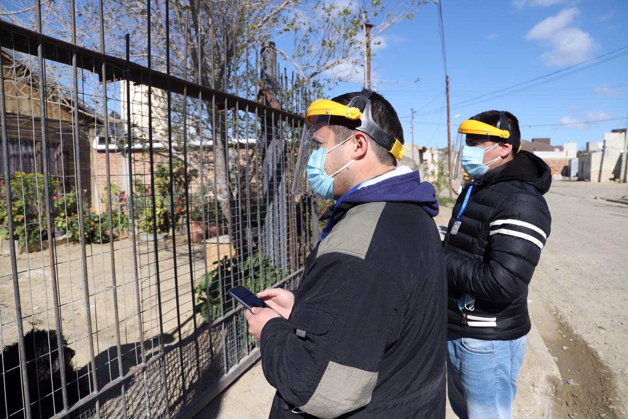 Plan Detectar: Comenzó el operativo para la detección rápida de COVID-19 en los barrios