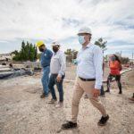 """Luque: """"Estamos avanzando en la transformación de todos los barrios de Comodoro"""""""